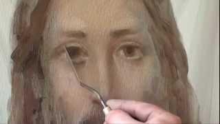 Иконопись Полный видеоурок Сахарова Иисус Христос
