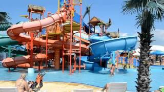 Аквапарк Тики-Так в Джемете, Анапа(Обзор аквапарка Тики-так в Анапе. Здесь детский водный городок с горками и бассейном и общая обзорная прогу..., 2014-07-15T09:50:40.000Z)