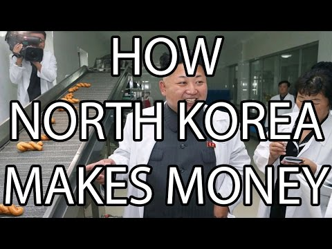 How North Korea Makes Money | Stuff That I Find Interesting