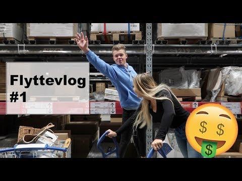 FLYTTEVLOG #1 - Ikea. A-møbler & maling