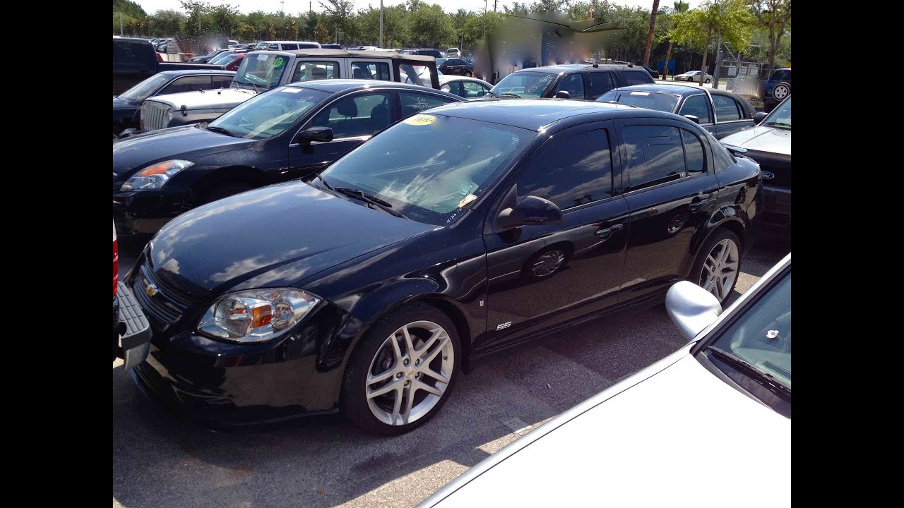 2009 chevrolet cobalt ss sedan 2 0t 5mt start up quick tour rev with exhaust view 53k youtube
