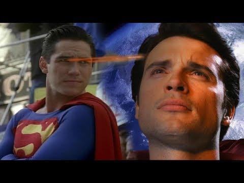 Лучдшие сериалы про Супермена  Тайны Смолвиля, Лоис и Кларк Новые приключения Супермена