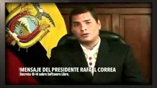"""Extracto sobre Software Libre del documental """"Ecuador Desde Afuera"""""""