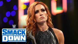 Becky Lynch refuses to face Bianca Belair once again SmackDown Sept 3 2021