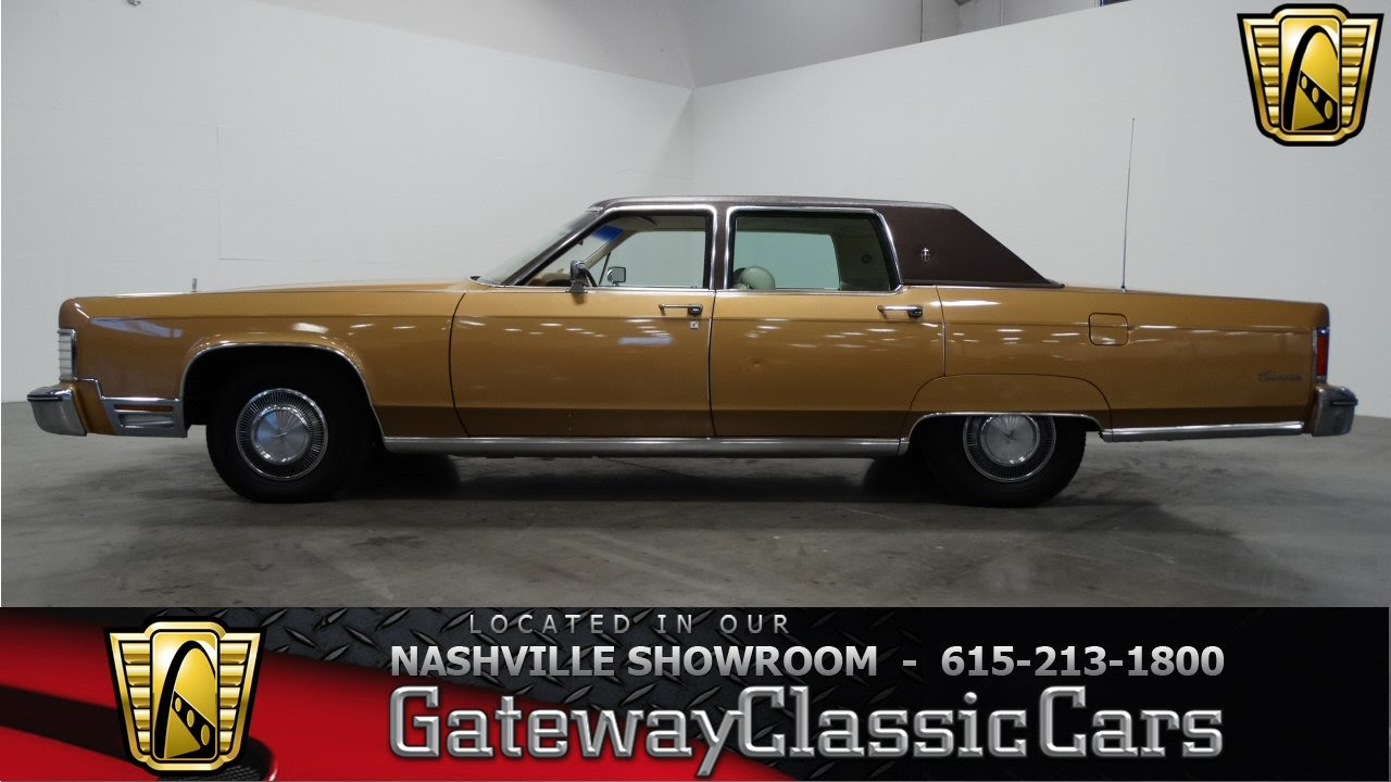 1976 Lincoln Continental Gateway Classic Cars Of Nashville 149