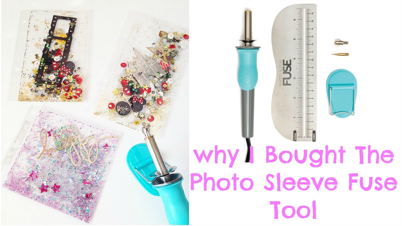 Why I Bought The WRMK Photo Sleeve Fuse Tool + Tutorial | Serena Bee