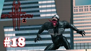 The Amazing Spider-Man 2 - Boss Venom Gameplay Walkthrough (1080P) - Part 18