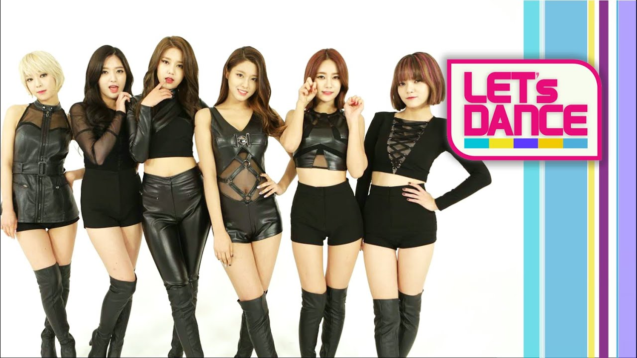 Lets Dance AOA에이오에이  Like A Cat사뿐사뿐 ENG/JPN/CHN