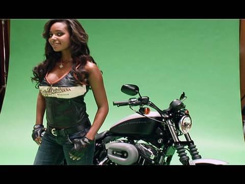 Harleys and hotties