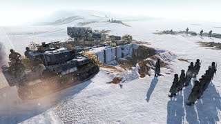 German Convoy Retreat Defense - Tiger Tank Arrives 1944 | Men of War: Assault Squad 2 Gameplay
