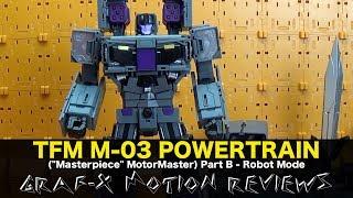 Transformission TFM M-03 PowerTrain (aka Transformers MotorMaster) Review - Part B