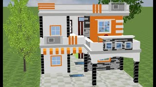 30 BY 50 HOUSE PLAN WITH CAR PARKING,MODERN HOME DESIGN,30 BY 50 DUPLEX HOUSE PLAN
