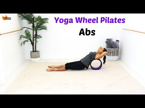 Yoga Wheel Workout Abs Core - BARLATES BODY BLITZ Yoga Wheel Pilates Abs