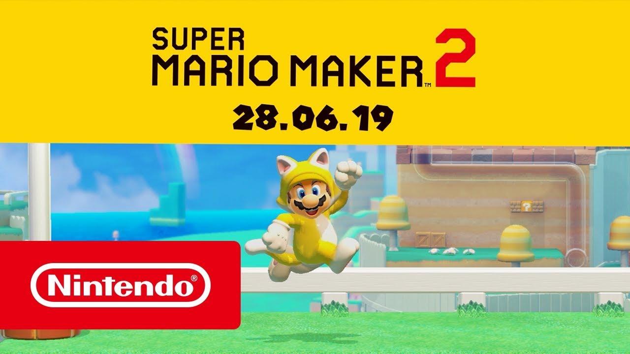 Super Mario Maker 2: fecha de lanzamiento, trailers, precio para