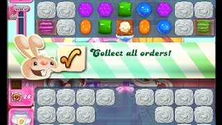 Candy Crush Saga Level 1454 walkthrough (no boosters)