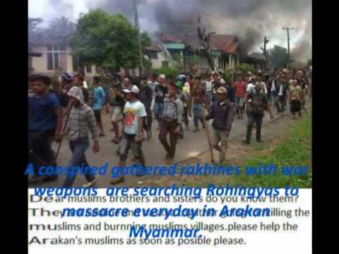 Since 7th century Rohingyas in Arakan 2012