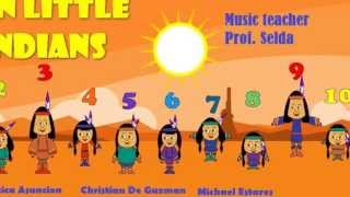 Project in Music - Ten Little Indians - By. MariaJessica