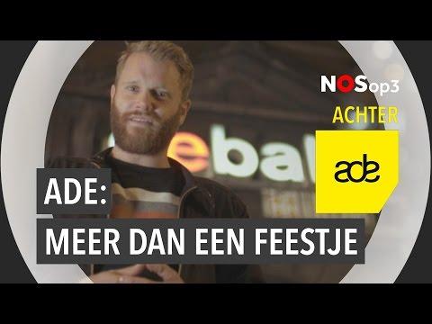 #AchterADE: Amsterdam Dance Event is meer dan een feestje | NOS op 3
