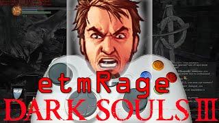 Maddyson Сгорел от геймпада xbox 360 в Dark Souls 3 etmRage