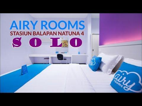 Airy Stasiun Balapan Natuna 4 Solo 🚆 Hotel Twin Star