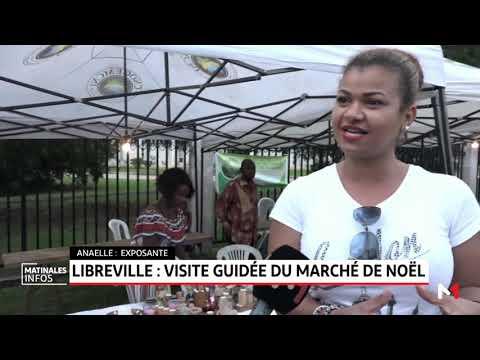 Libreville: visite guidée du marché de Noël
