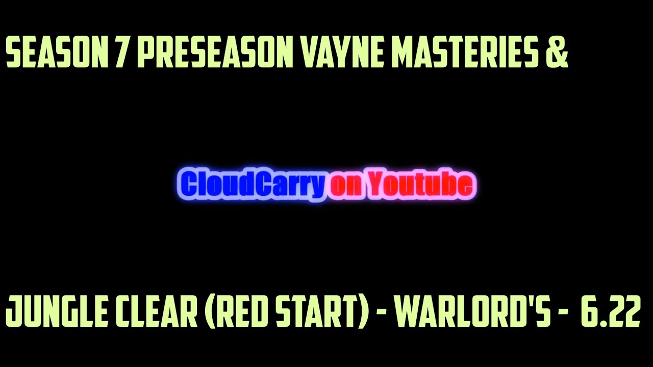 season 7 preseason vayne