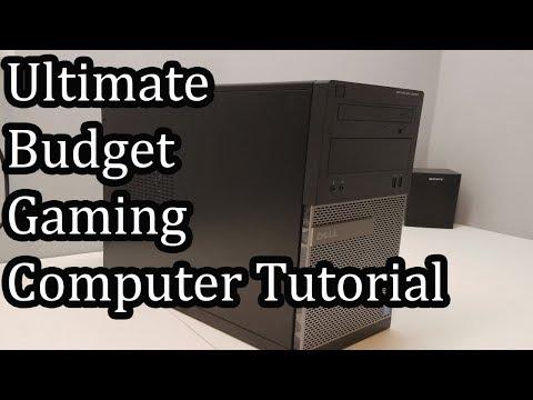 Ultimate Budget Gaming Computer Tutorial - 2017
