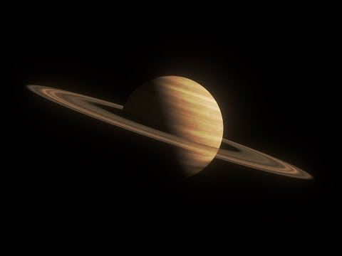 Blender Tutorial #8: Saturn-like Ringed Gas World