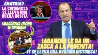 """💥¡VOX Y PP EN PIE!💥 El HOSTIÓN de ADANERO a la COMUNISTA Yolanda Díaz por su CHORRADA de """"MATRIA"""""""