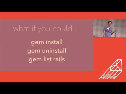 RubyConf AU 2017 - How does Bundler work anyway?, by Andre Arko