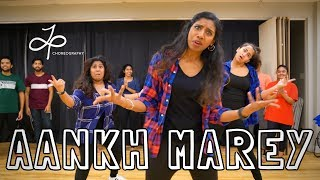 AANKH MAREY || SIMMBA || BollyFusion Workshop || Judy Panachakunnel Choreography