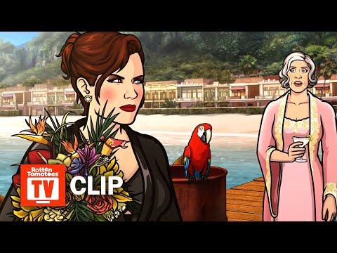 Archer: Danger Island S09E04 Clip | 'Coconut Butter' | Rotten Tomatoes TV