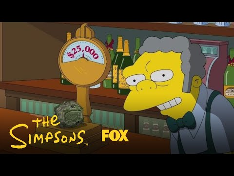 A Message From Moe About Puerto Rico | Season 29 | THE SIMPSONS
