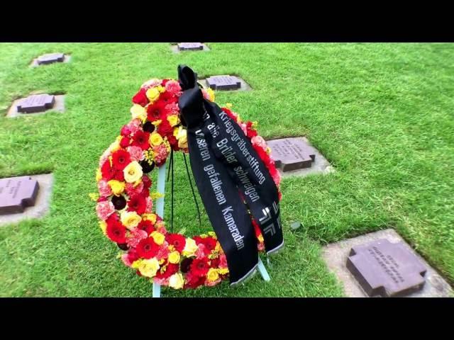 D-dag - La Cambe. Tysk krigskirkegård.