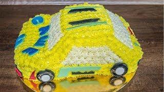 3D торт машинка