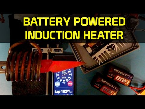 Cheap 1000W Battery Powered Induction Heater 🔴