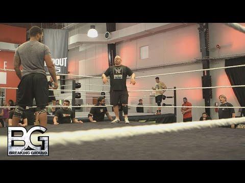 WWE Network: Regal and Bloom get upset over the issue of footwork: WWE Breaking Ground, Nov. 2, 2015