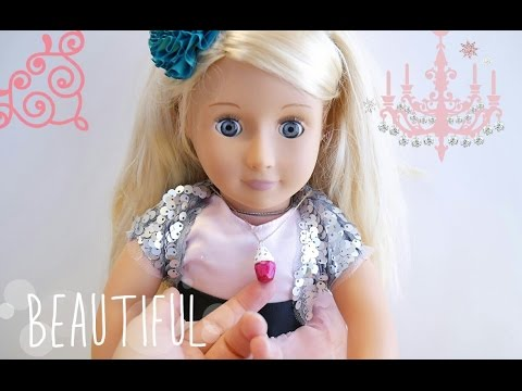 DIY Jewelry for American Girl or Our Generation Dolls   Cupcake Charm