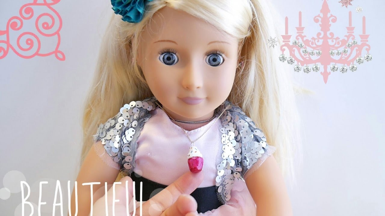 DIY Jewelry for American Girl or Our Generation Dolls Cupcake