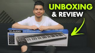CONTROLADOR MIDI M-Audio Keystation 49 - Unboxing, Review, Demo
