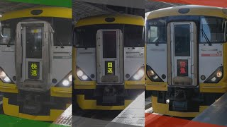 臨時列車として走るE257系500番台@横浜駅、新宿駅
