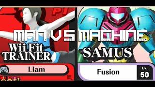 Super Games World Tournament winner Liam vs Amiibo Samus