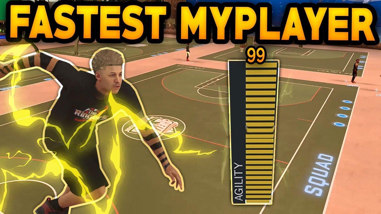 NBA 2K17 FASTEST PLAYER EVER ! 99 SPEED | FASTEST MyPlayer ...