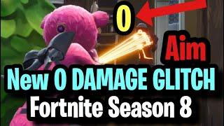 NEW 0 DAMAGE GLITCH IN FORTNITE (Makes you miss shots) ~ GameBreaking Aim Hit Marker Glitch Season 8