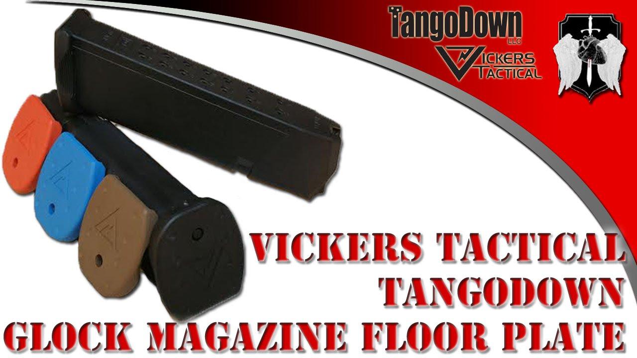 Vickers Tactical Glock Magazine Floor Plates: Installation