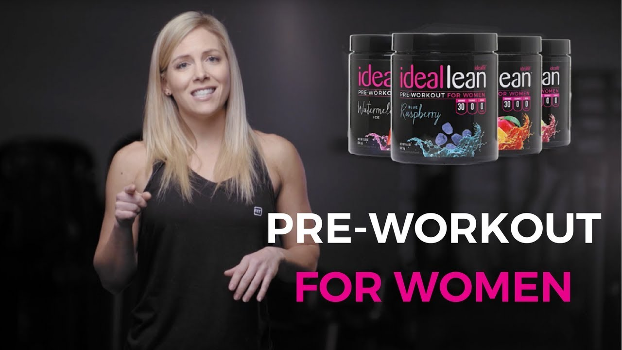 Best Pre Workout For Women Youtube
