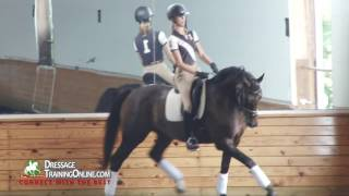 How to deal with naughty behavior while training your Dressage horse