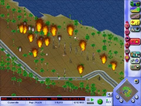SimCity 3000 Unlimited: Fun With Fires