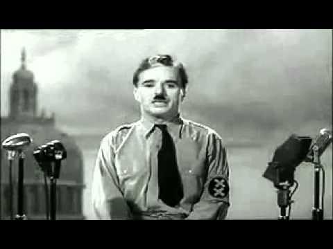 Charlie Chaplin discours final