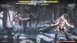 IS MKX: GF TGS Mr Aquaman (W) (kotal khan) vs TGS Yams (L) (quanchi)